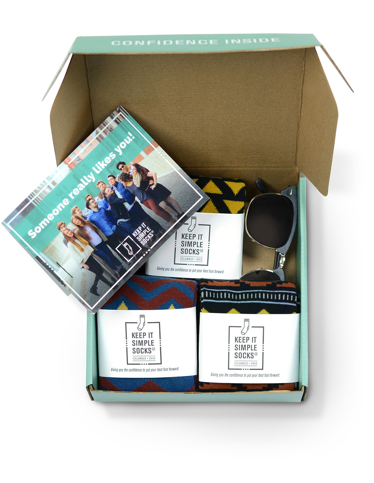 Monthly Socks Gift Box – 3 Month