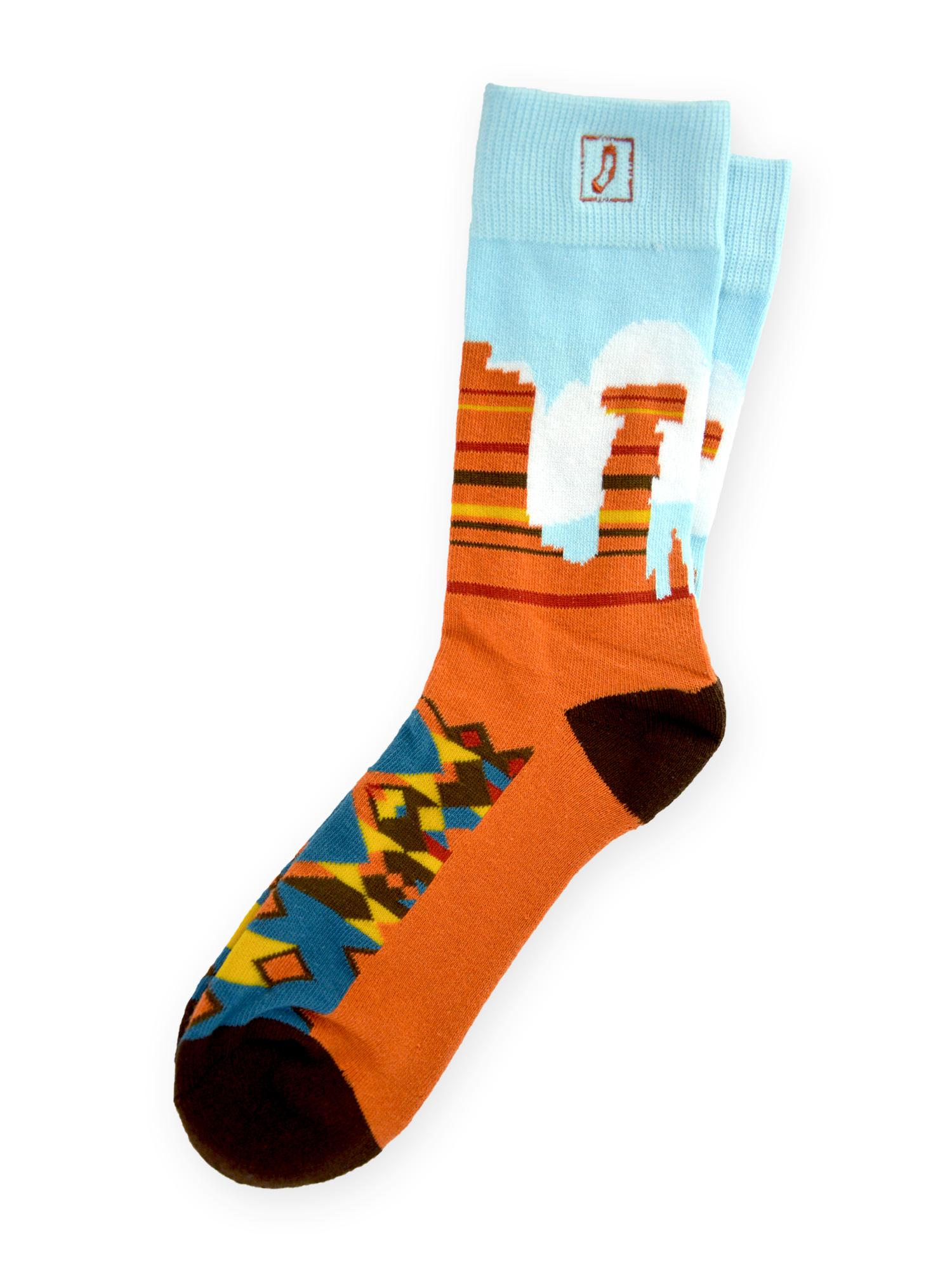 Red Rock Socks